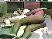 Hairy wife enjoying an interracial threesome