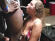 I set her up every weekend with a new large black cock for her to fuck
