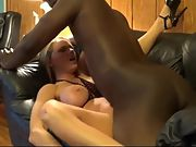 Slut wife making sex tape with black wifelover