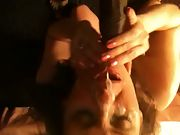 Taking a huge bbc facial from a mate