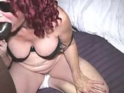 Phat butt grandma takes dick in her ass like a professional