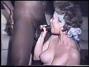 Big tit cougar idolizes a huge dark manhood