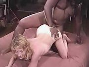 Birthday treat hook-up with black male on camera