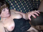 Mature wife screwing ebony with thick cock