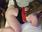 Sexy milf eva fucks big black cock boyfriends and enjoys every minute of it